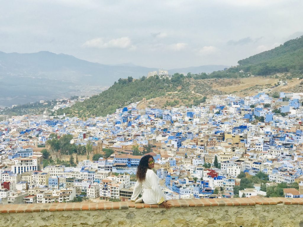 Exploring Chefchaouen The Morocco's Blue Pearl from afar;